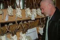 Výstava trofejí v Horních Bludovicích