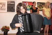 Úspěšný akordeonista Jan Masnica.