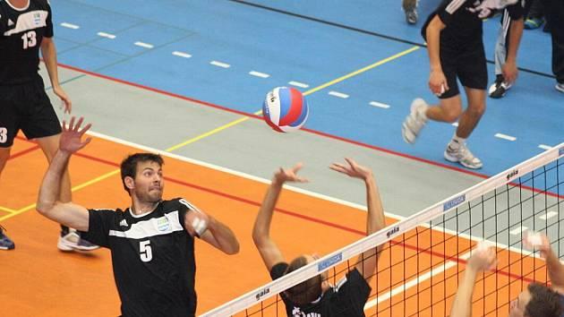 Volejbalisté Havířova prohráli i třetí zápas extraligy, doma nestačili na Zlín.