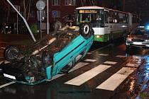 Nehoda na ulici M. Pujmanové