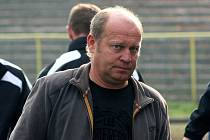 Trenér Karviné Leoš Kalvoda.