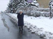 Vydatné sněžení ovlivnilo především dopravu