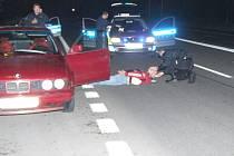 Ostravští policisté zastavili ujíždějícího řidiče v Havířově pomocí několika výstřelů.