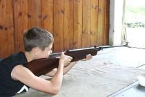 Střelecká soutěž školáků