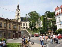Staré náměstí v Orlové