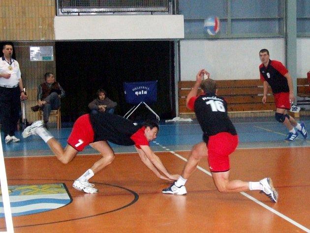 Volejbalisté Slavie Havířov útočí na špici tabulky. Vedení odmítli porážkou od ČZU Praha.