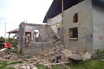Fotografie z místa neštěstí