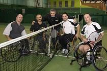 Karviná open 2011 v tenise na vozíku.