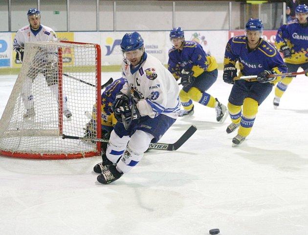 Hokejisté Orlové hrají ve středu druhé utkání proti Valašskému Meziříčí.