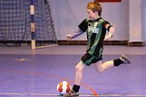 Fotbaloví caparti předváděli na turnaji v Opavě slibné výkony.