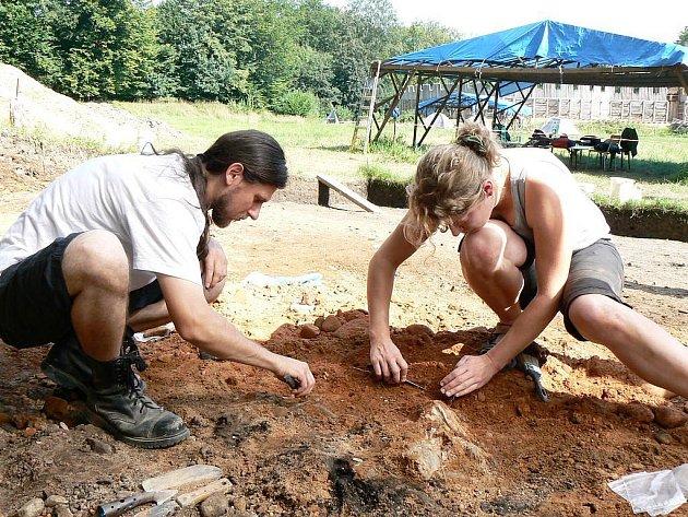 Nález výjimečný i v evropském měřítku učinili v minulých dnech archeologové na hradisku v Chotěbuzi–Podoboře. Na úpatí valu na prvním předhradí odkryli kompletní propálené kostry domácích zvířat ustájené ve chlévě, jež pocházejí z období 9. století.