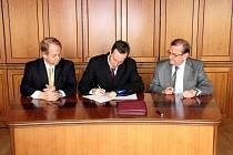 Podpis smlouvy se společností RPG o budoucnosti Dukly