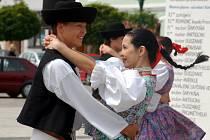Festival národnostních menšin na Masarykově náměstí v Karviné