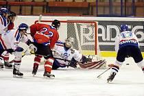 Výhrou 6:4 vyrovnali hokejisté Karviné rekord Havířova v počtu vítěznách zápasů v řadě.