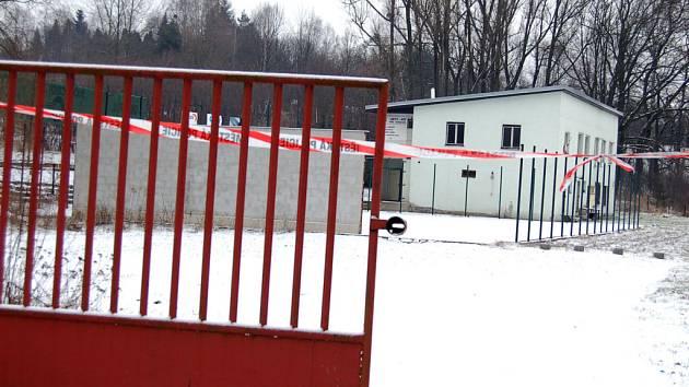 V tomto objektu bydlela donedávna rodina Františka Pejchala. Objekt je však kvůli ohrožení metanem uzavřen.