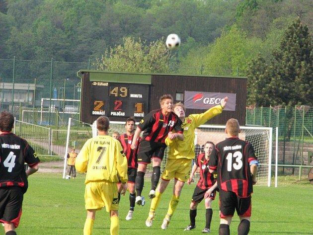 Fotbalisté Orlové předvedli opět skvělý vstup do zápasu a radovali se z další výhry.