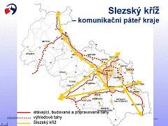 To jsou páteřní komunikace Moravskoslezského kraje, které by měly zabránit hrozícímu dopravnímu kolapsu.