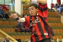Mládežníci Karviné (na snímku Igor Vaňko) si na začátku druhé části sezony počínají velmi dobře.