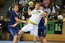 Radek Kružík, nejlepší hráč zápasu.