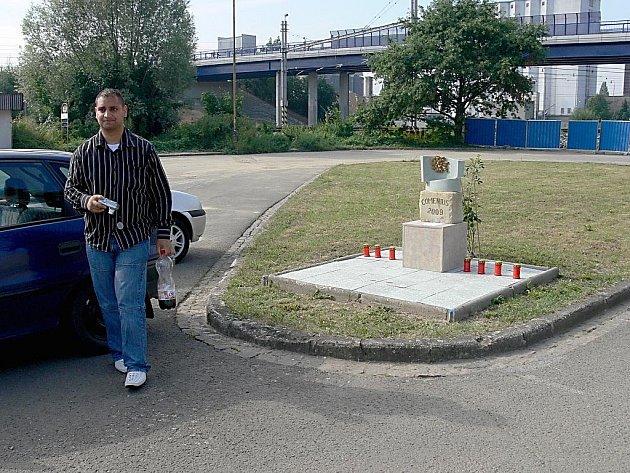 Arnošt Lacko z Karviné chtěl návštěvou místa tragédie uzavřít jednu temnou kapitolu svého života.