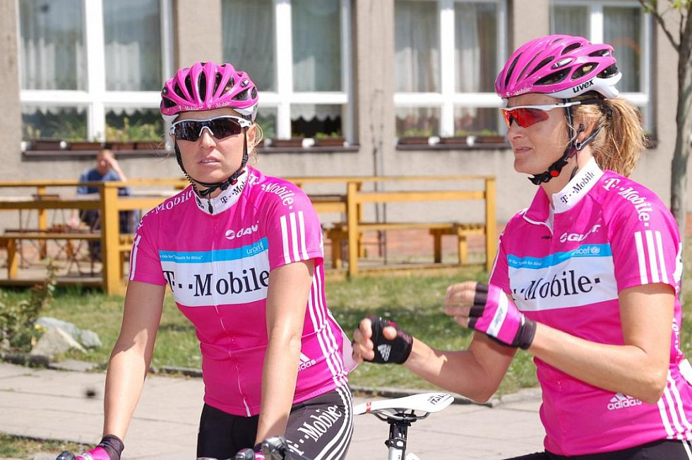 Anke Wichmann a Kimberly Anderson.