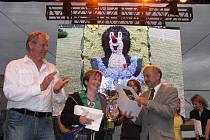 Vyhlášení vítězů soutěže floristů