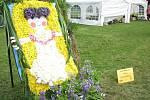 Květinová díla vytvořená floristy v průběhu Havířova v květech