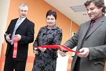 Juraj Chomič (vpravo) na snímku z nedávného zahájení provozu nových chirurgických ambulancí.