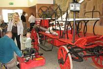 Dobrovolní hasiči připomněli sto let své činnosti výstavou