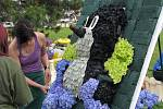 Havířov v květech, floristé při tvorbě svých květinových výtvorů