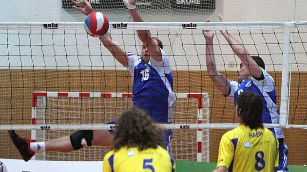 Volejbalisté Havířova bojují o play off jako lvi.