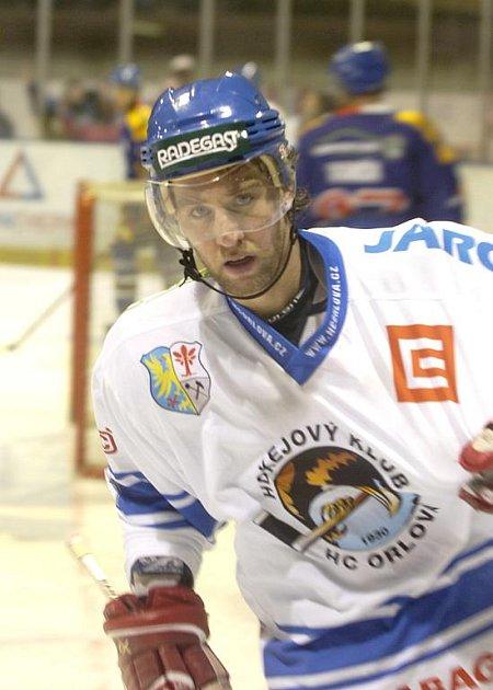 Hokejista Najdek hrál loni za Orlovou, nyní je v přípravě Havířova.