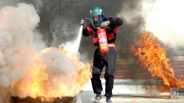 Beskydský pohár v požárním sportu vyhrál Moravskoslezský tým hasičů.