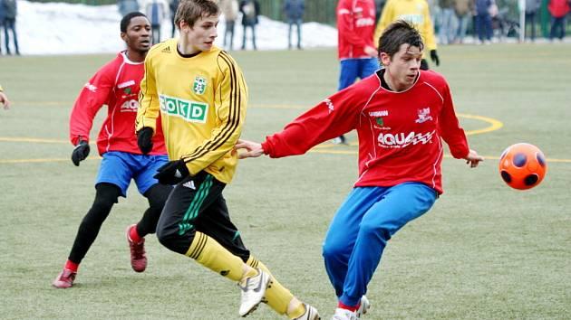 Karvinští fotbalisté nadále pokračují v zimní přípravě.