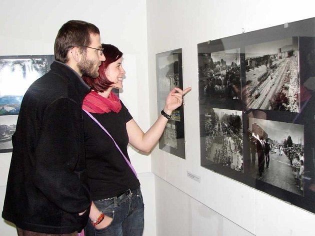 Výstava Proměny Havířova.