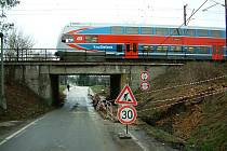 Rekonstrukce železničního podjezdu