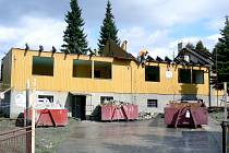 Stavba školky v Rychvaldu