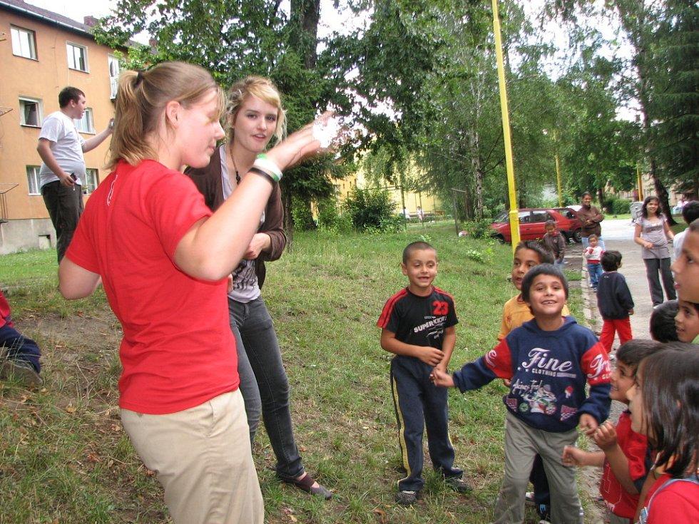 Mladí američtí misionáři v Havířově