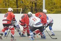 Hokejbalisté Karviné už v extralize nejsou jen do počtu.