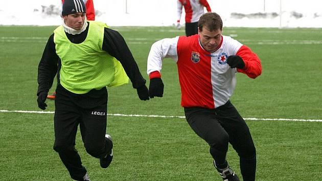 Orlovští fotbalisté již také finišují se zimní přípravou.