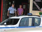 Zadržení mladící podezřelí ze sprejerství