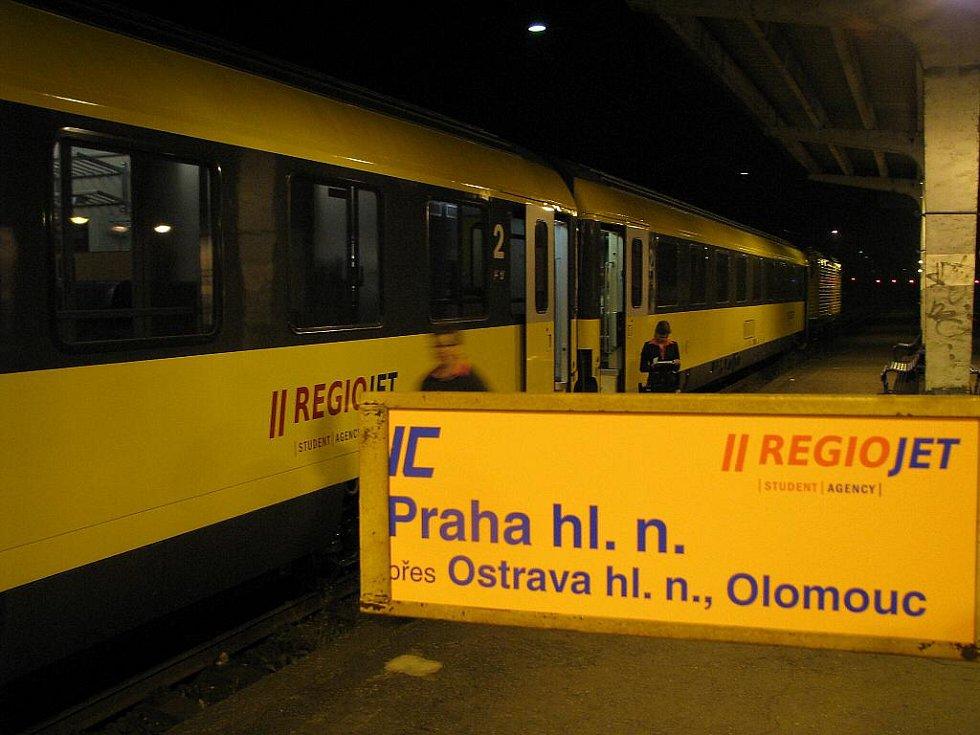 IC RegioJet v Havířově