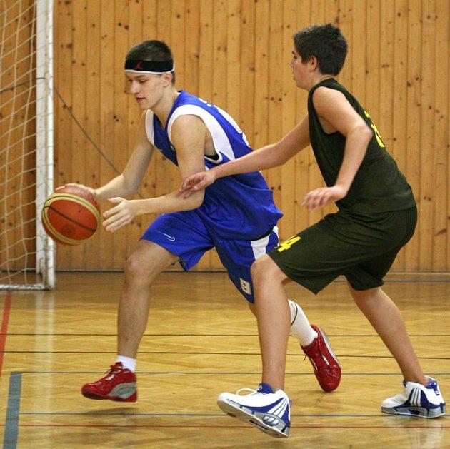 Basketbaloví kadeti Sokola na postup do elitní čtveřice měli, ale těsně jim to nevyšlo.