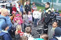 Den otevřených dveří, ukázka služebních kol městské policie