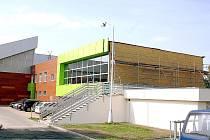 Městská sportovní hala v Havířově v době opravy