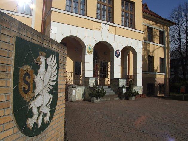 Radnice ve Stonavě.