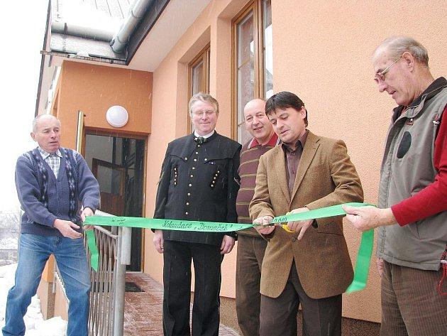 Slavnostní otevření klubu hornických důchodců