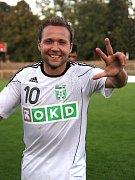 Vladan Milosavljev - hrdina středečního poháru mezi Karvinou a Opaviu. Dal hattrick a na první gól nahrál.
