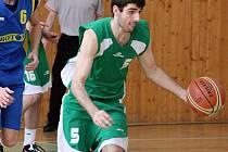 Jan Horváth zaznamenal v prvním dvoukole juniorské ligy basketbalistů nejvíce karvinských bodů.
