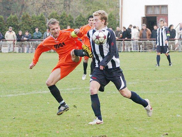 Fotbalisté Horní Suché uspěli na úvod jara v I.A třídě na hřišti Veřovic.